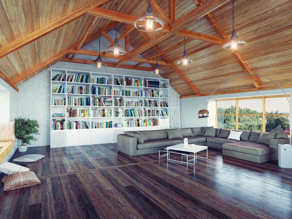 Hardwood Flooring Room