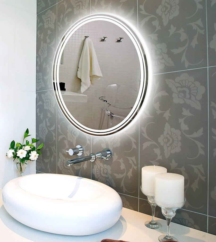 Small Bathroom Big Mirror