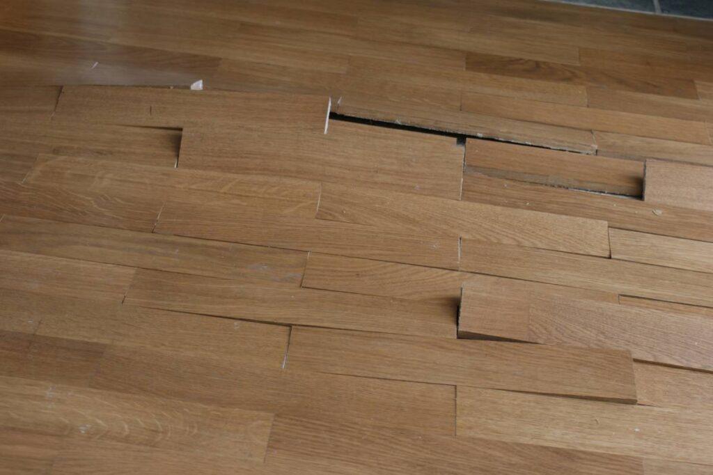 Water Demage Hardwood Flooring