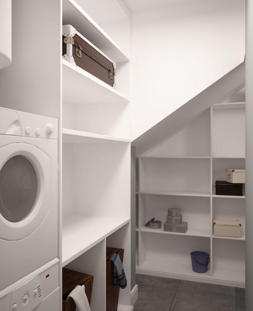 Laundry utility shelfs
