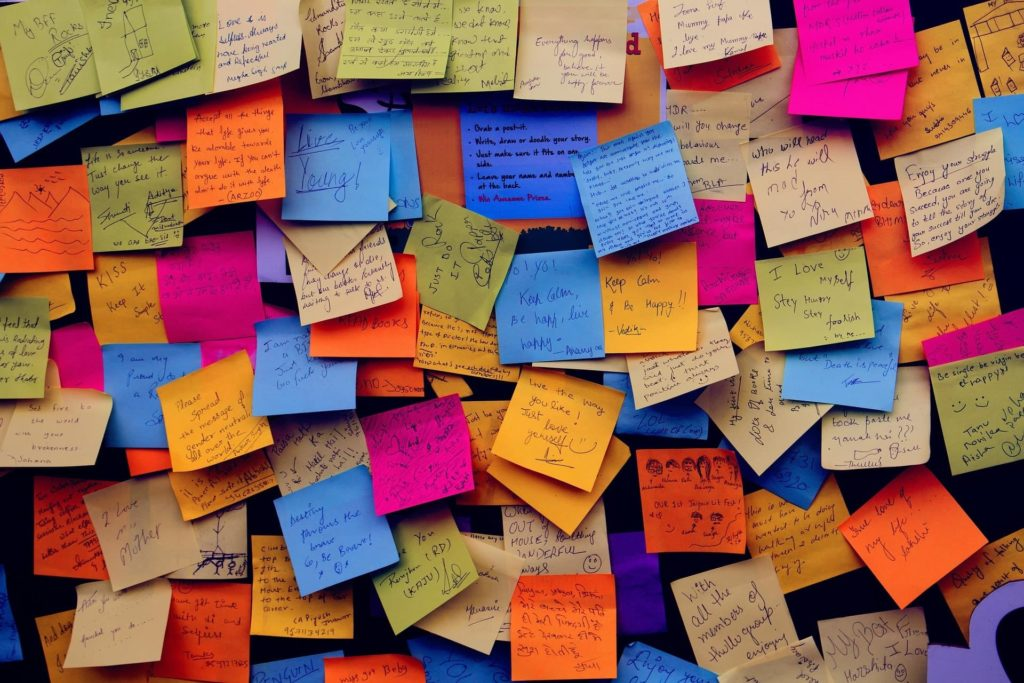 Notes board