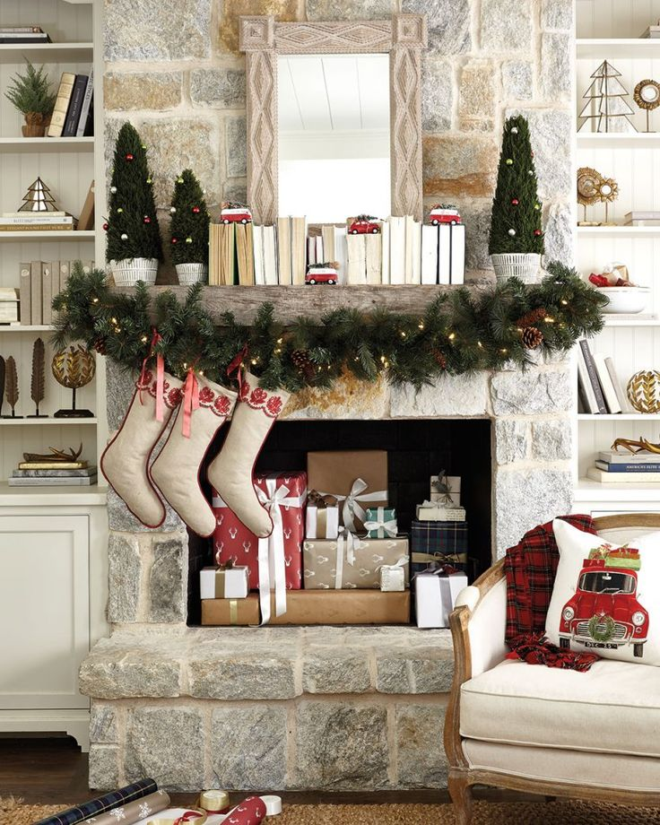 Fireplace Holiday Ideas