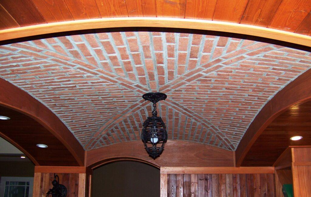 Ceiling Brick Design ideas