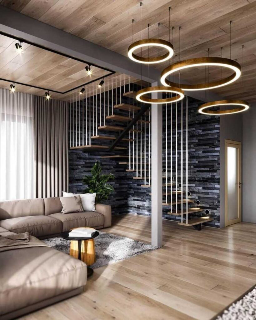 Ceiling Wood Panel Design Ideas