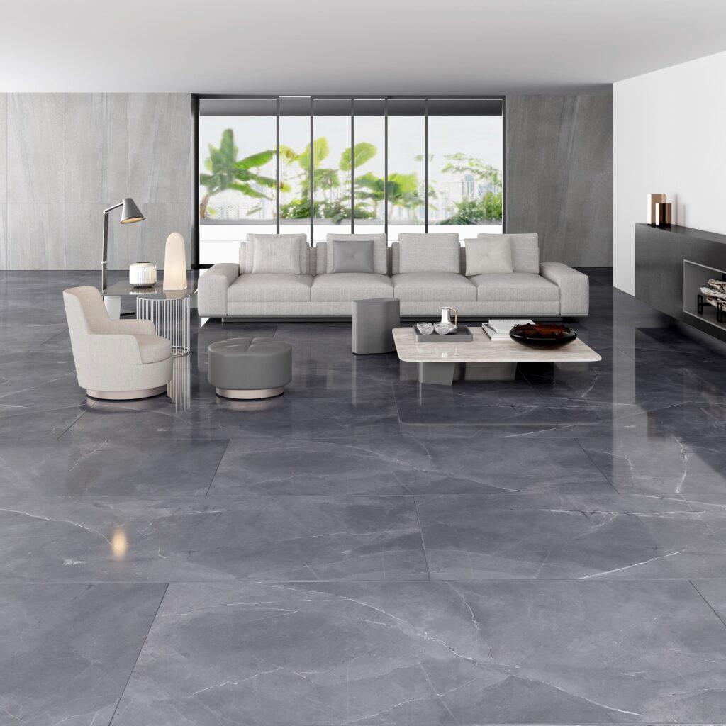 Porcelain Grey Tile