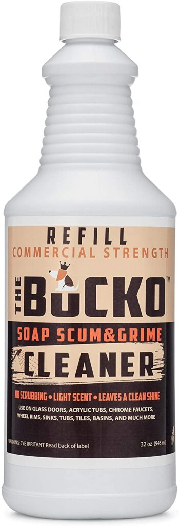 Bucko Soap Scum And Grime Cleaner