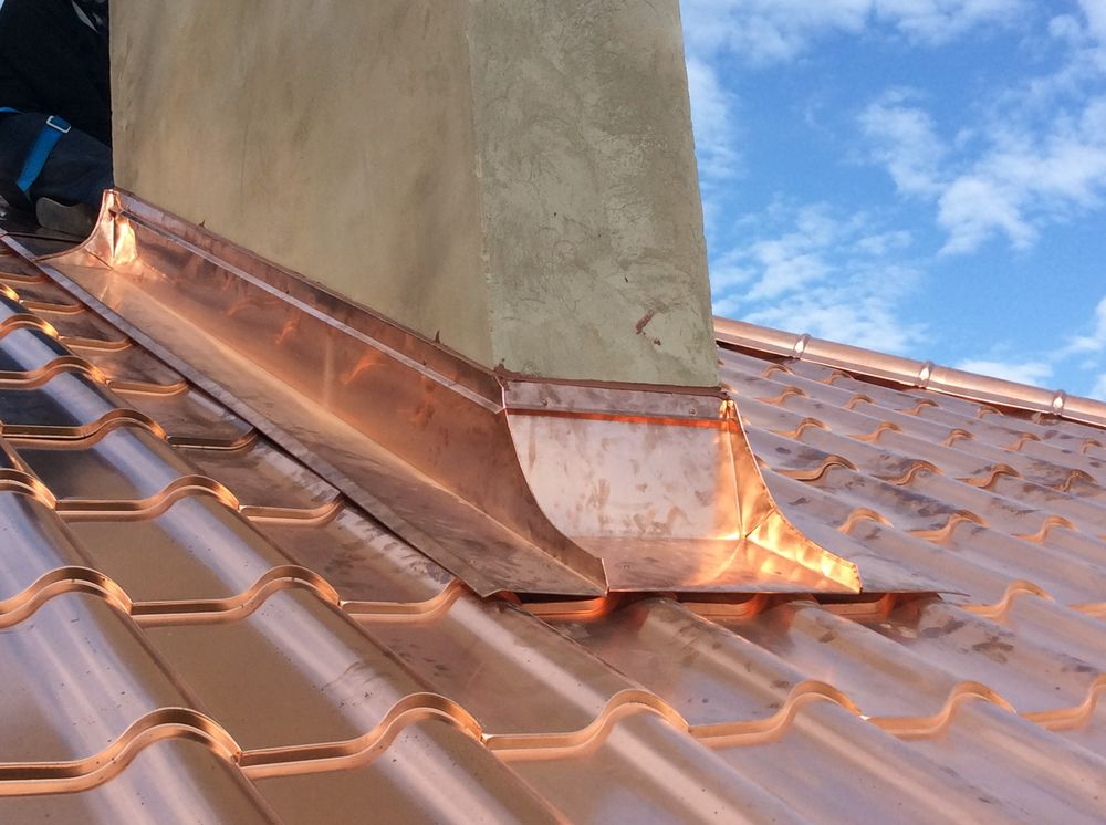 Copper Roofing Shingles