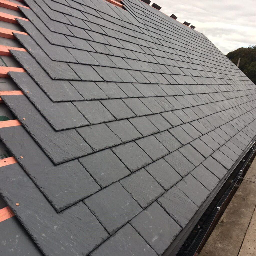 Dark Grey Roof Shingle Slate Tiles