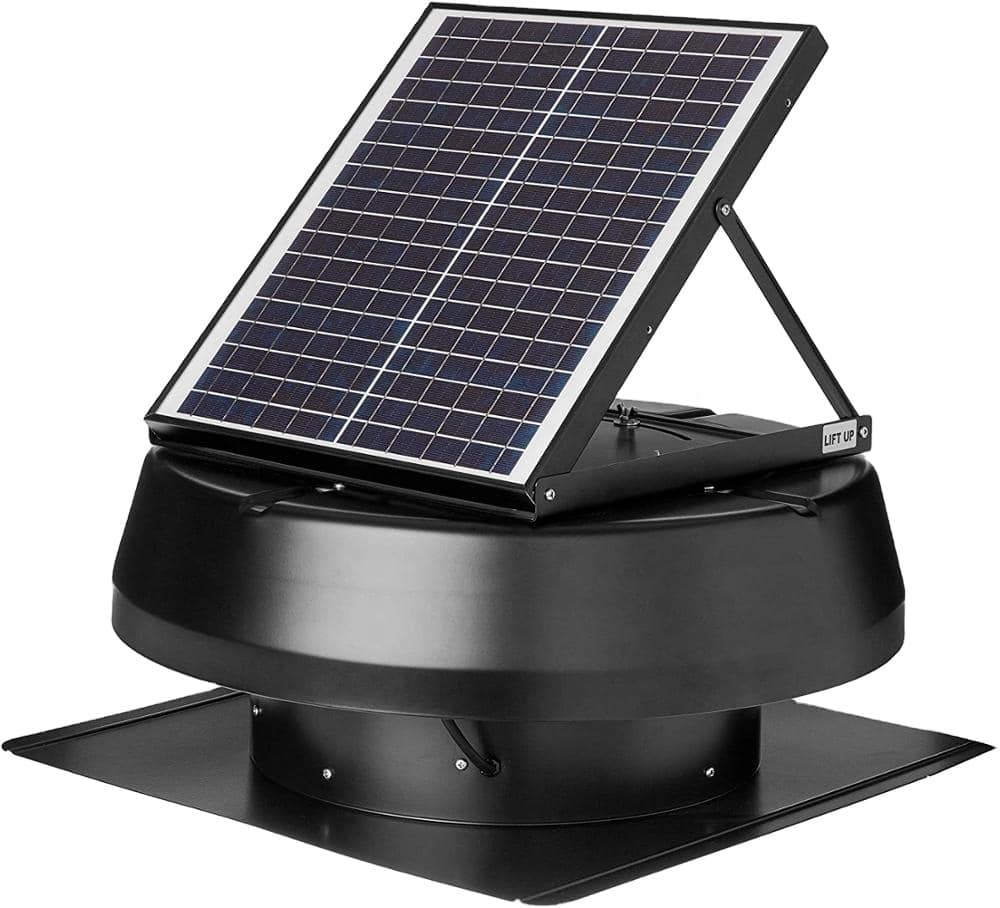 Attic Solar Fan