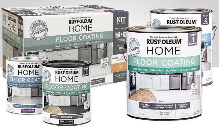 Floor Tile Paint Kit