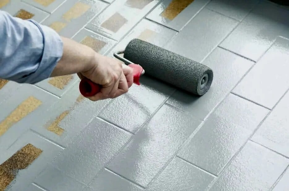 Paint Floor Tile
