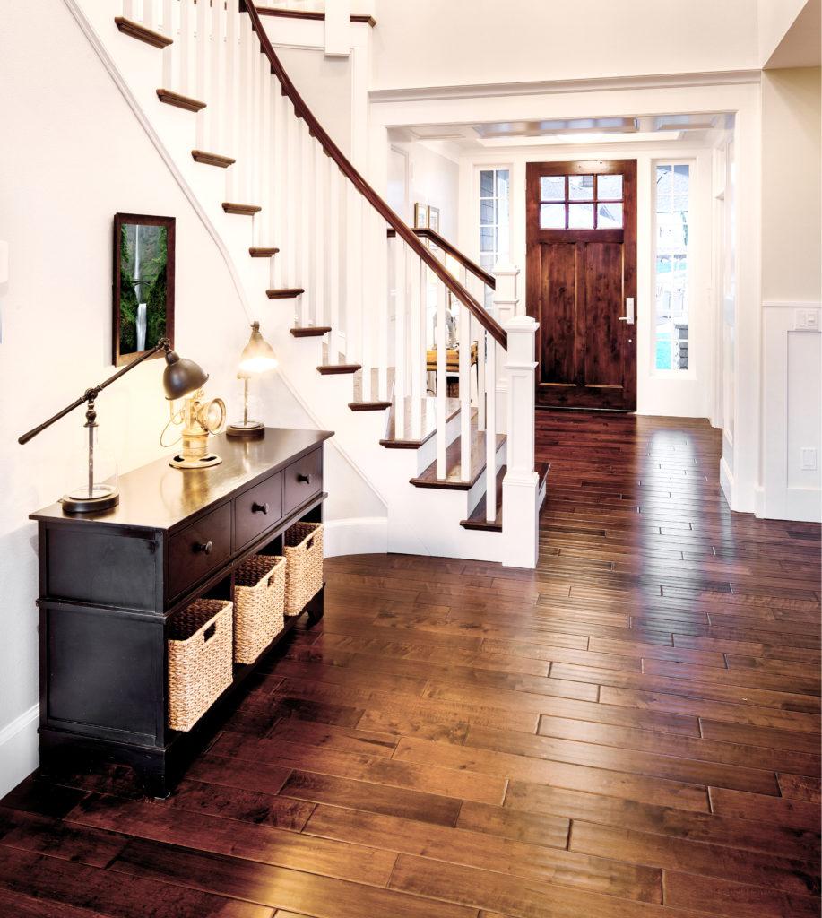 Hardwood Floor in Entry